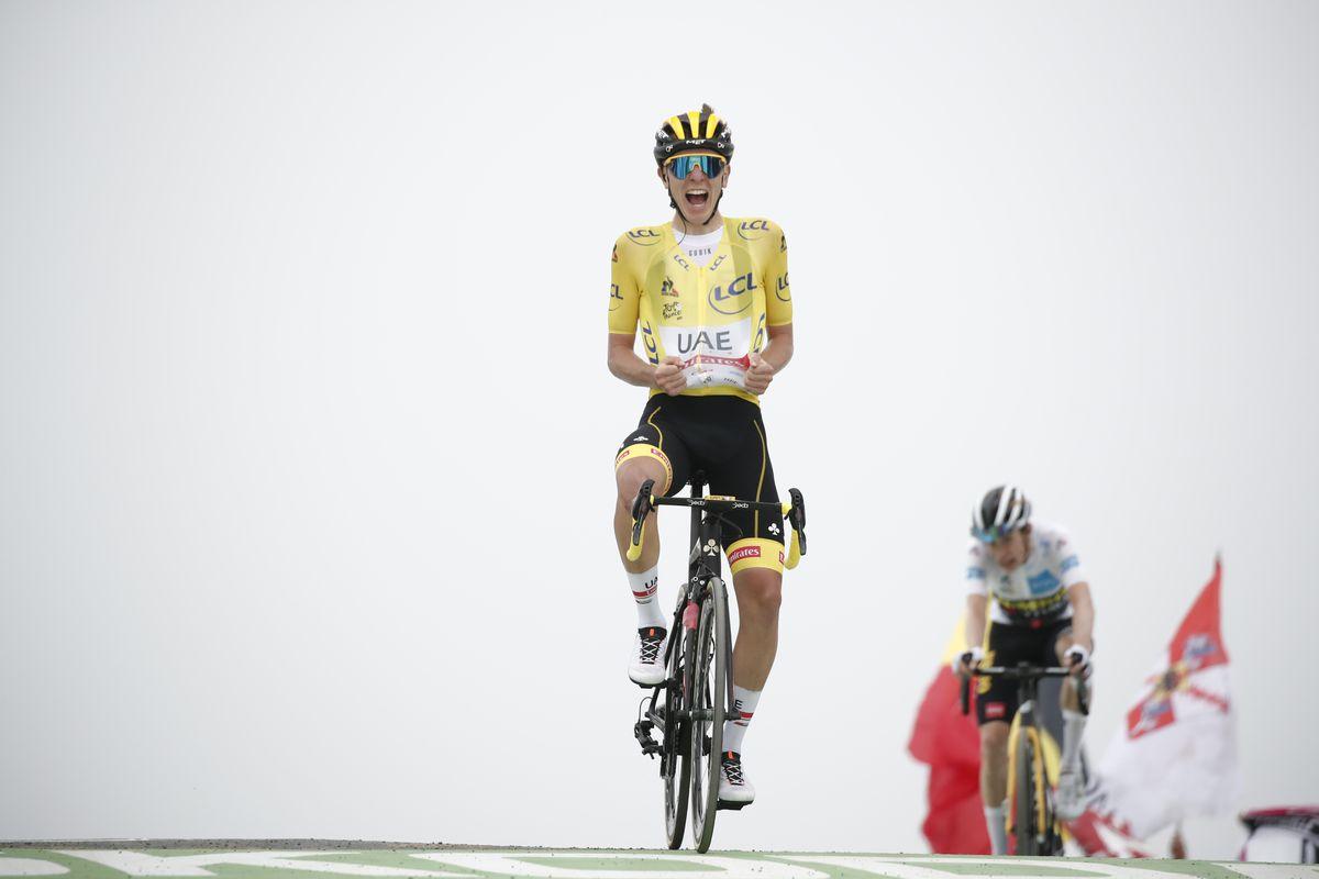 Pogachar, el señor del Tour de Francia, elige a sus compañeros del podio  deporte
