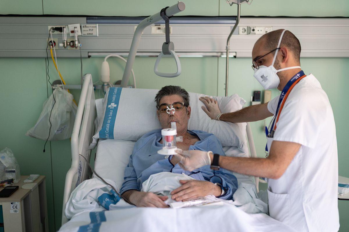 Primer trasplante de pulmón en España por paciente por covid  Comunidad
