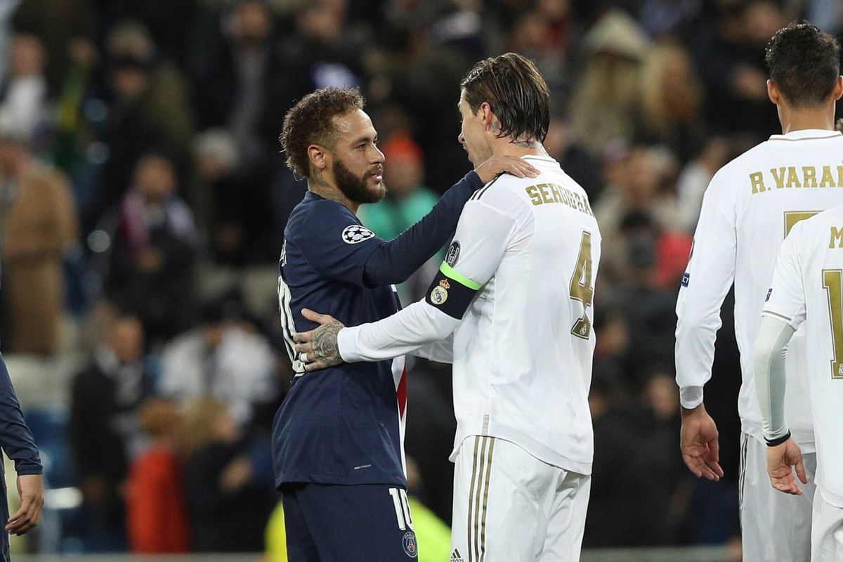 Ramos-Neymar, Liga de Campeones  deporte