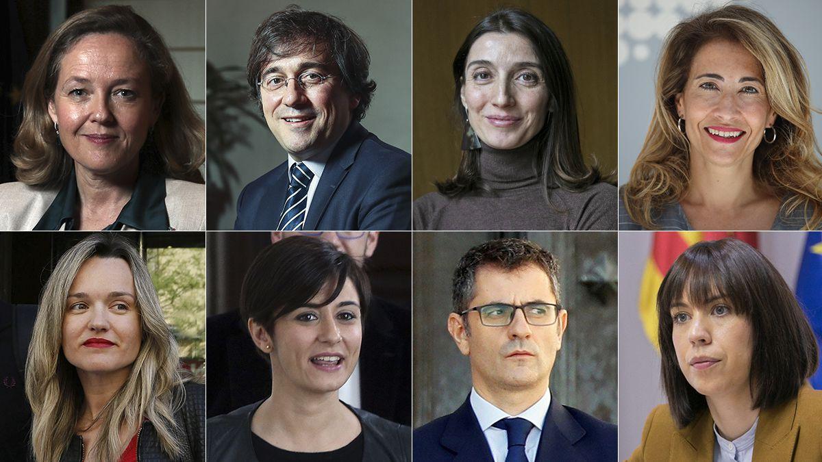Reacciones después de los cambios de gobierno, en vivo  Los nuevos ministros prestan juramento ante el rey a las 9:00 de la mañana.  España