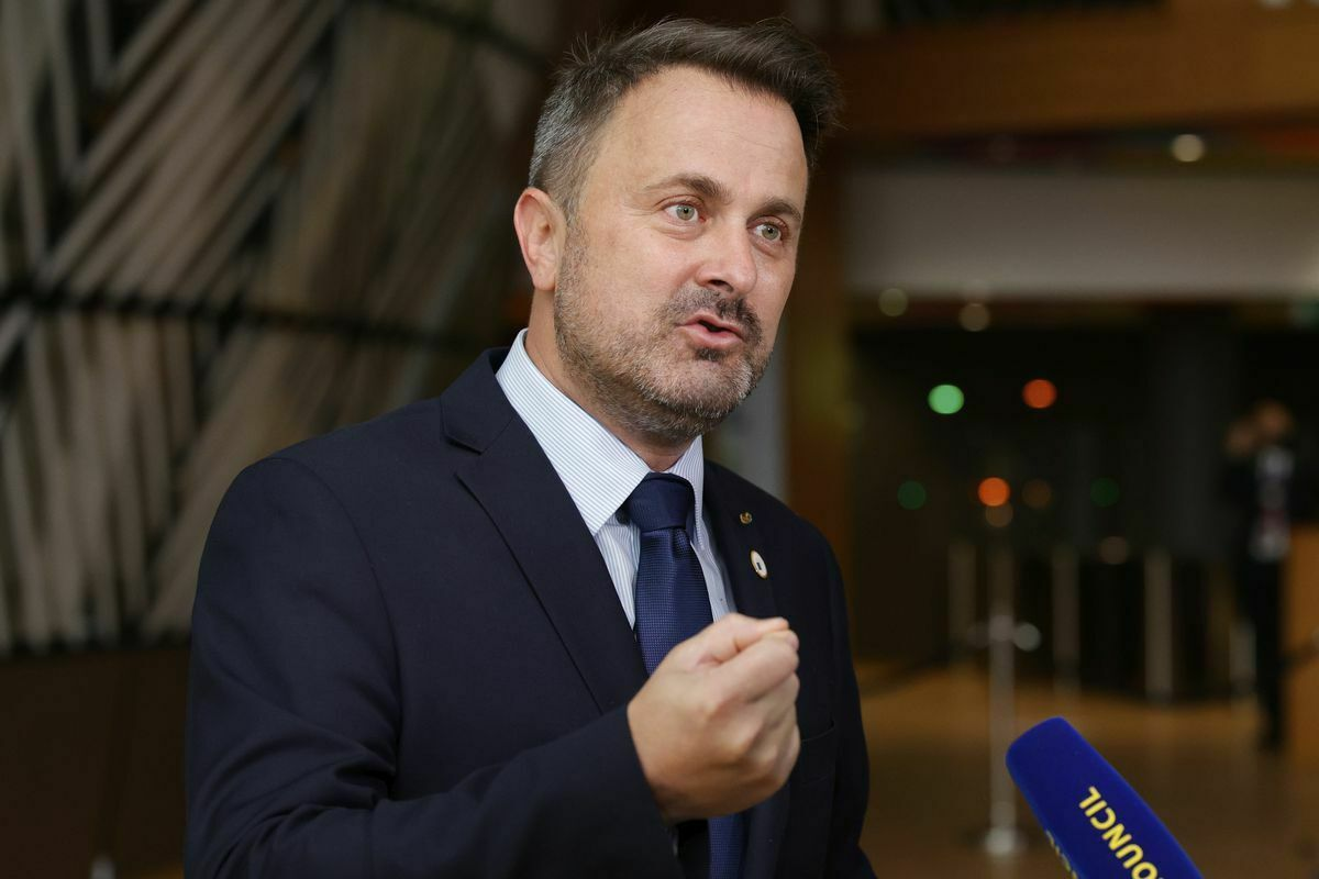 Registrado por Covid Xavier Bethel, Primer Ministro de Luxemburgo  Internacional