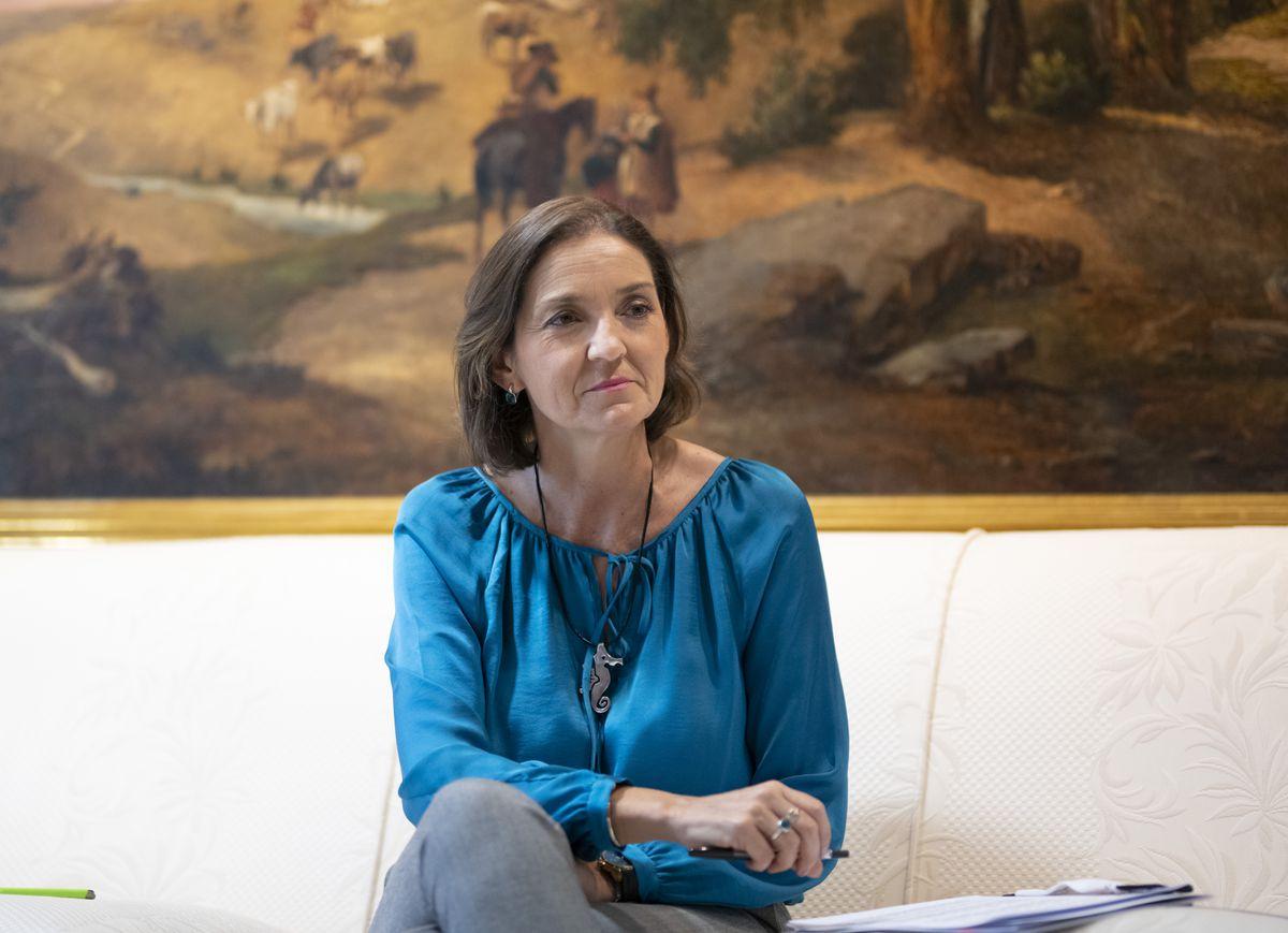 """Reyes Maroto: """"Todavía podemos recuperar la mitad del turismo internacional este año""""  Ciencias económicas"""