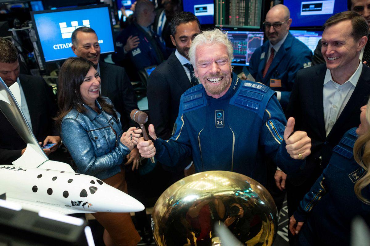 Richard Branson acelera el avance de su vuelo espacial para ganar unos días en Jeff Bezos    Ciencias