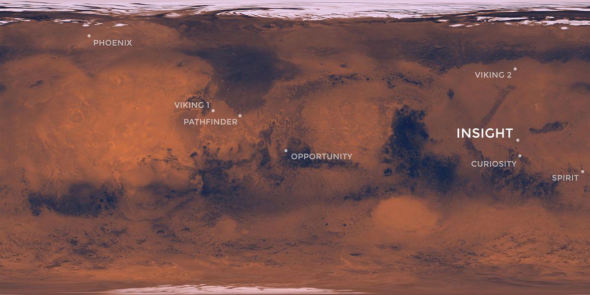 Sonda InSight: esto es Marte adentro  Ciencias