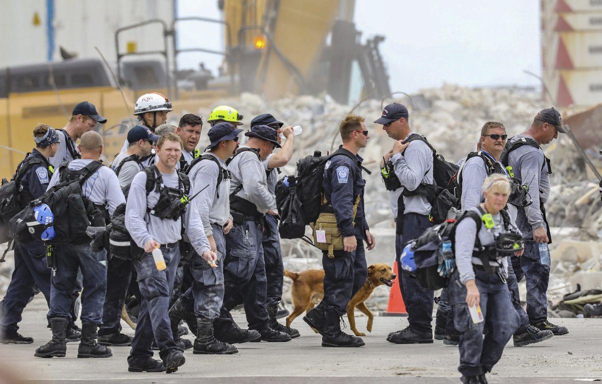 Surfside: Miami abandona el rescate de las víctimas de un edificio derrumbado y va a reconstruir los cuerpos    Internacional