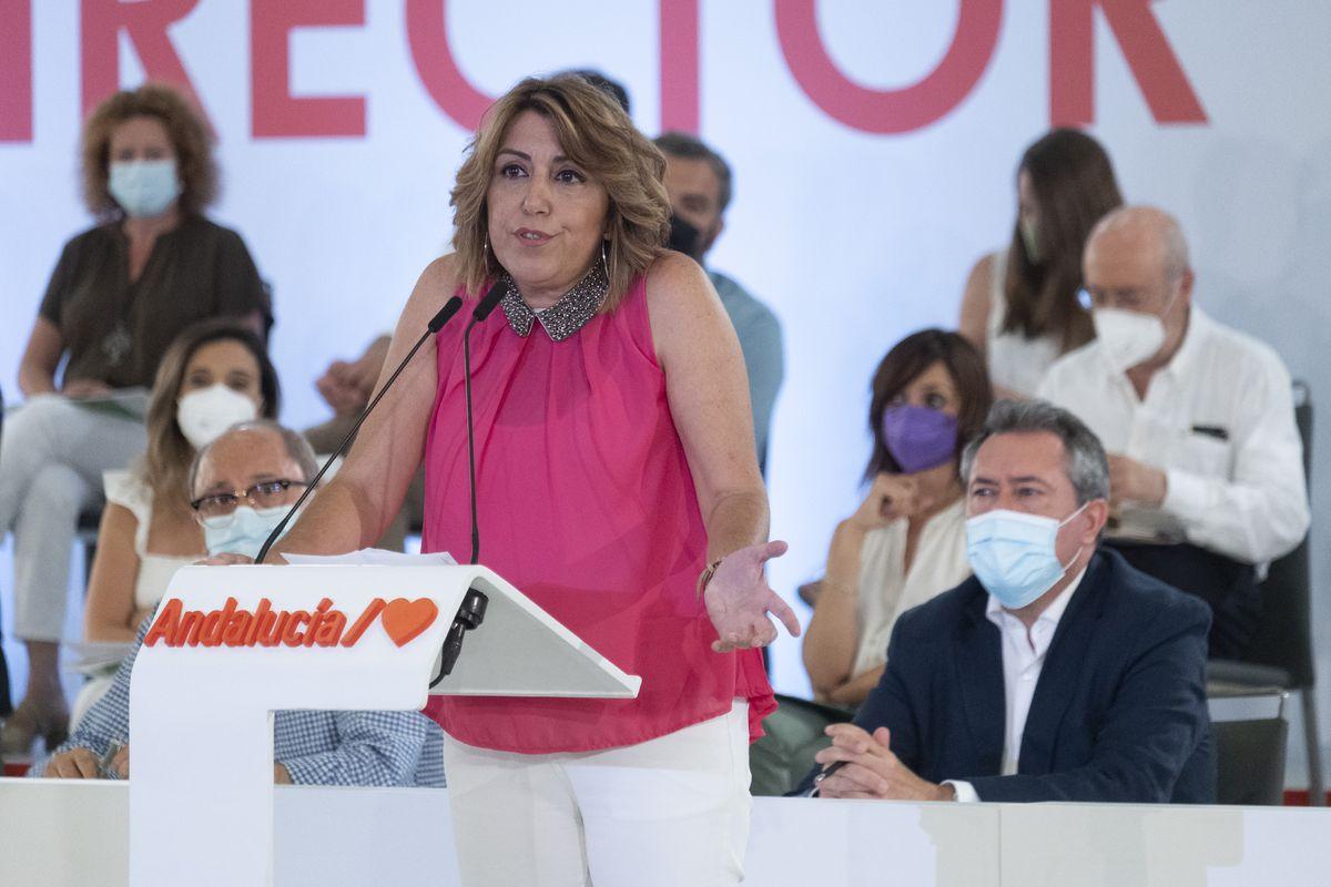 """Susanna Díaz, adiós: """"Unidad no es uniformidad""""  España"""