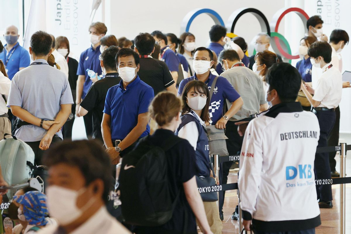 Tokio registra el mayor número de infecciones diarias en seis meses, ocho días antes de los Juegos Olímpicos |  Juegos Olímpicos 2021