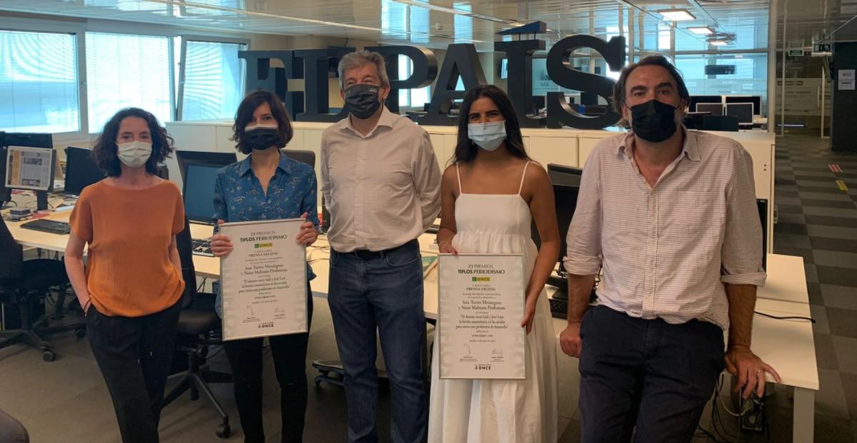 Tres nuevos premios reconocen el periodismo social de EL PAÍS  EL PAÍS que hacemos