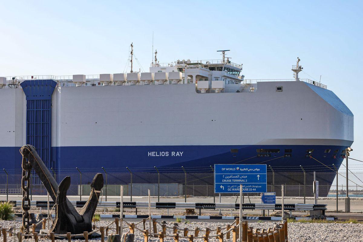 Un buque de carga de propiedad israelí es alcanzado por un misil mientras navegaba hacia el Golfo Pérsico |  Internacional