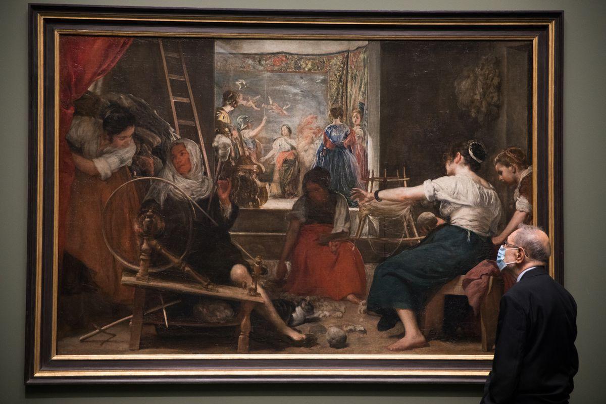 Una nueva forma de ver Las Hilanderas, tal como las pintó Velázquez  Cultura
