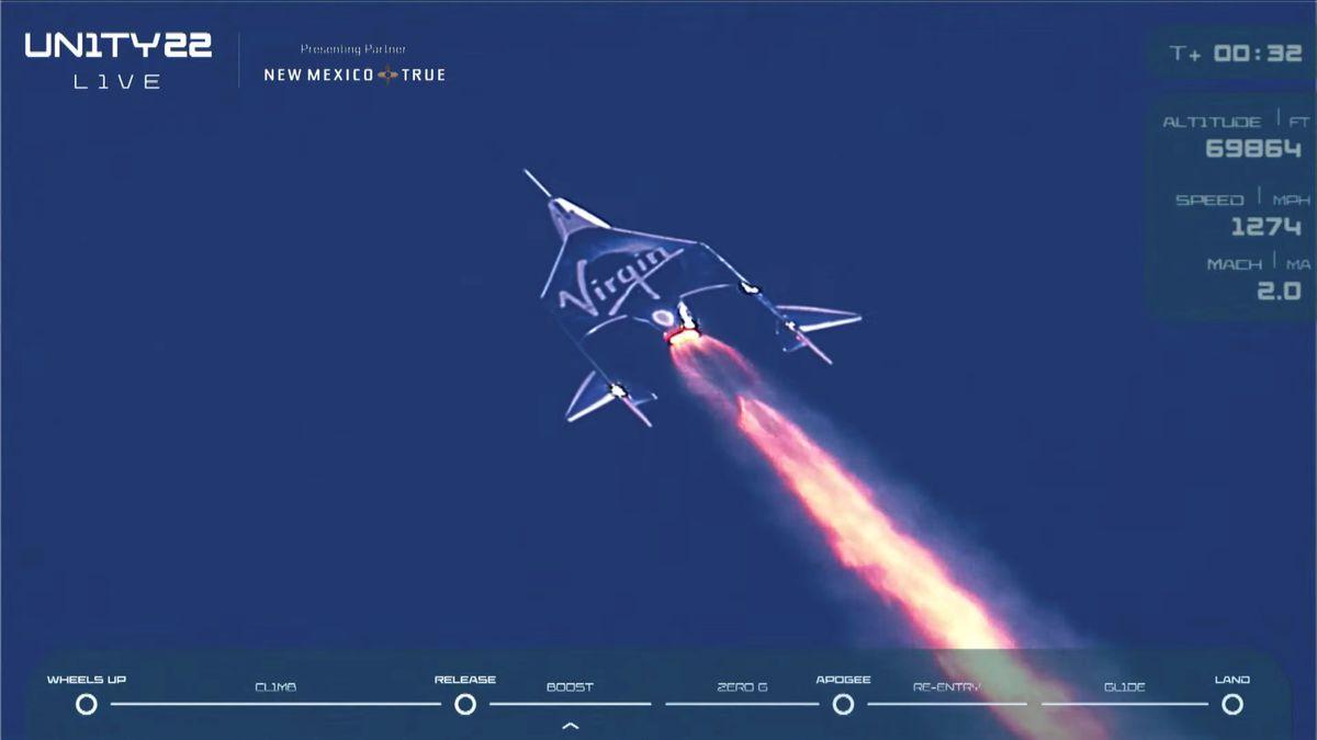 Virgin Galactic: El multimillonario Richard Branson viaja a la puerta del espacio con su propia nave |  Ciencias