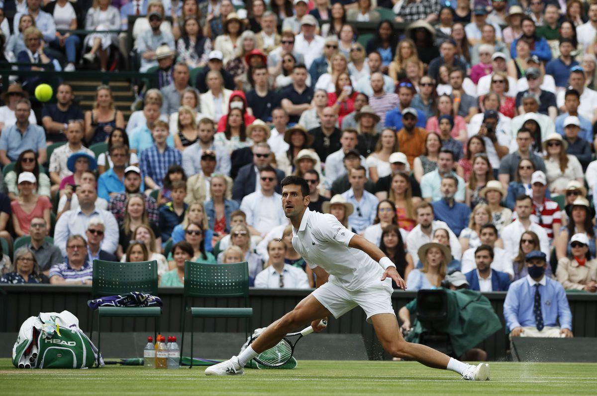 Wimbledon 2021: Djokovic, sobre el césped en casa  deporte
