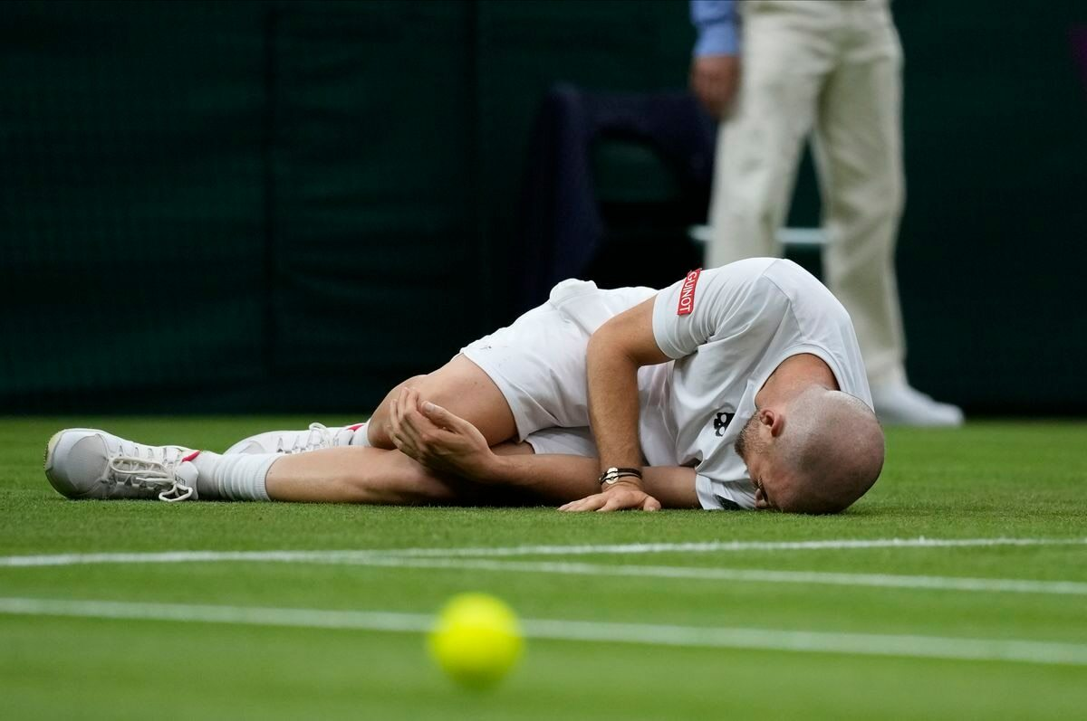Wimbledon 2021: deslizamientos alarmantes  deporte