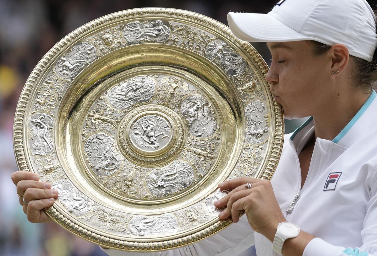 Wimbledon 2021: el campeón Barty exalta el mejor tenis  deporte