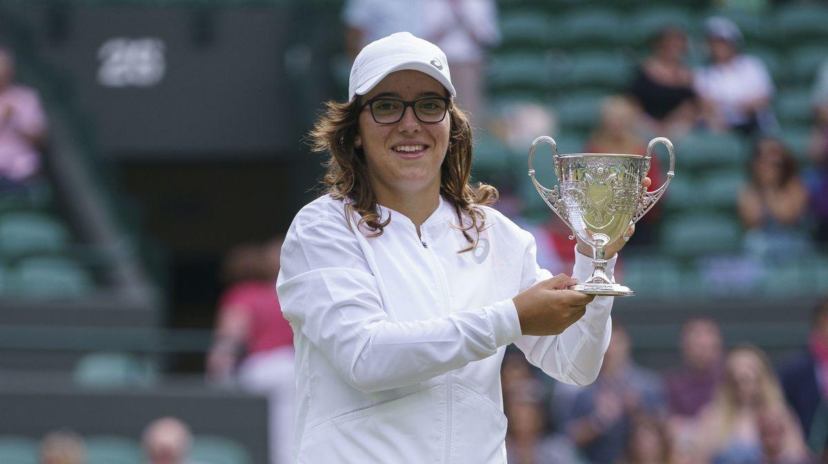 Wimbledon 2021: el título histórico de Anne Minteghi  deporte