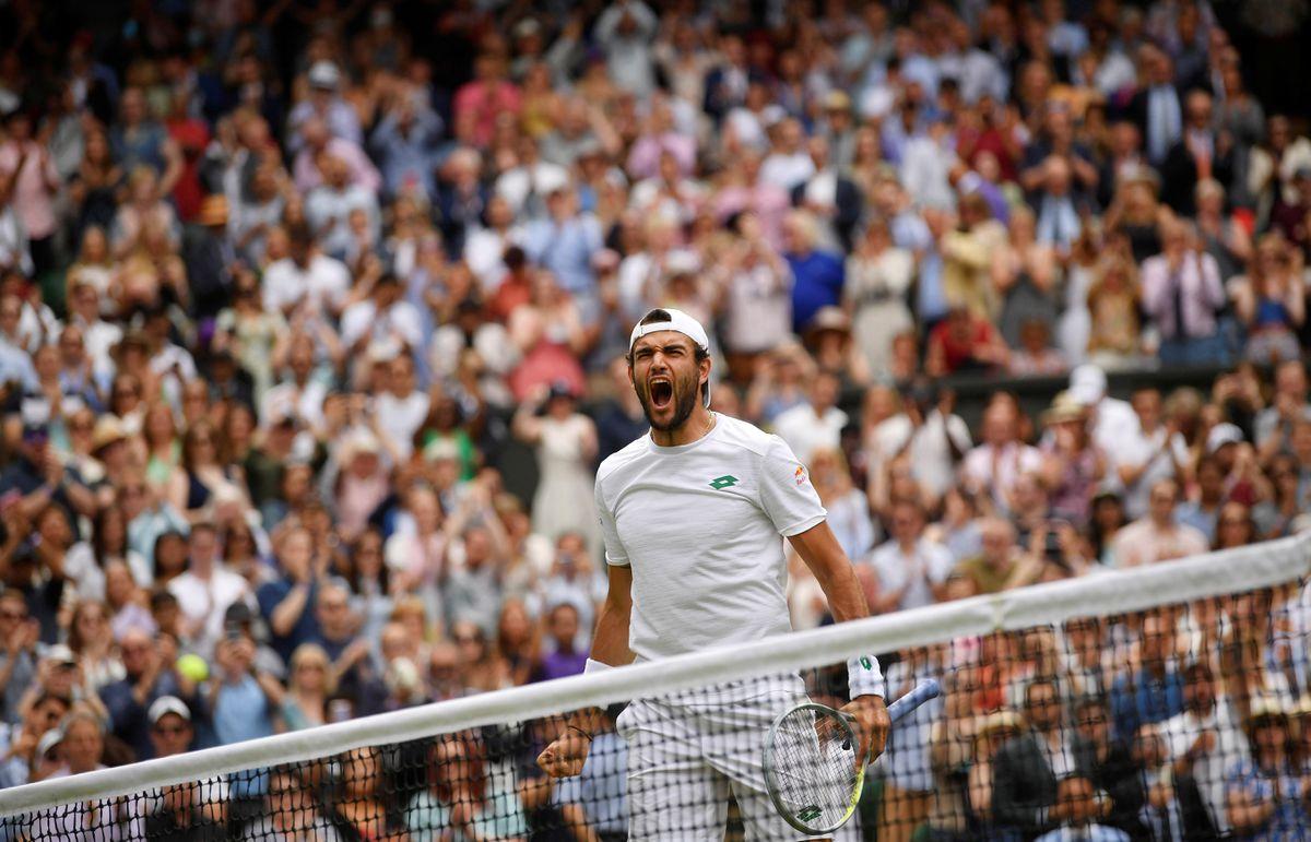 Wimbledon 2021: entre Djokovic y 20, Cañón de Beretini  deporte