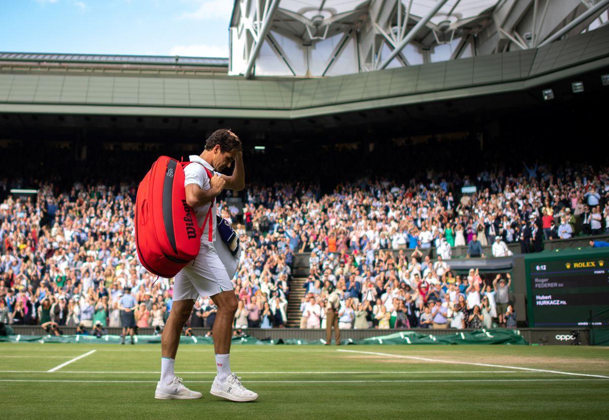 Wimbledon 2021: una cruel despedida de Federer  deporte
