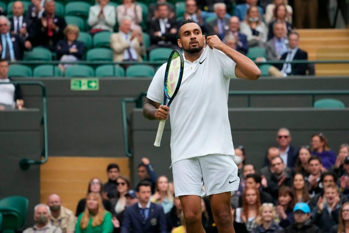 """Wimbledon 2021: """"vacaciones"""" inglesas en Kyrgios  deporte"""