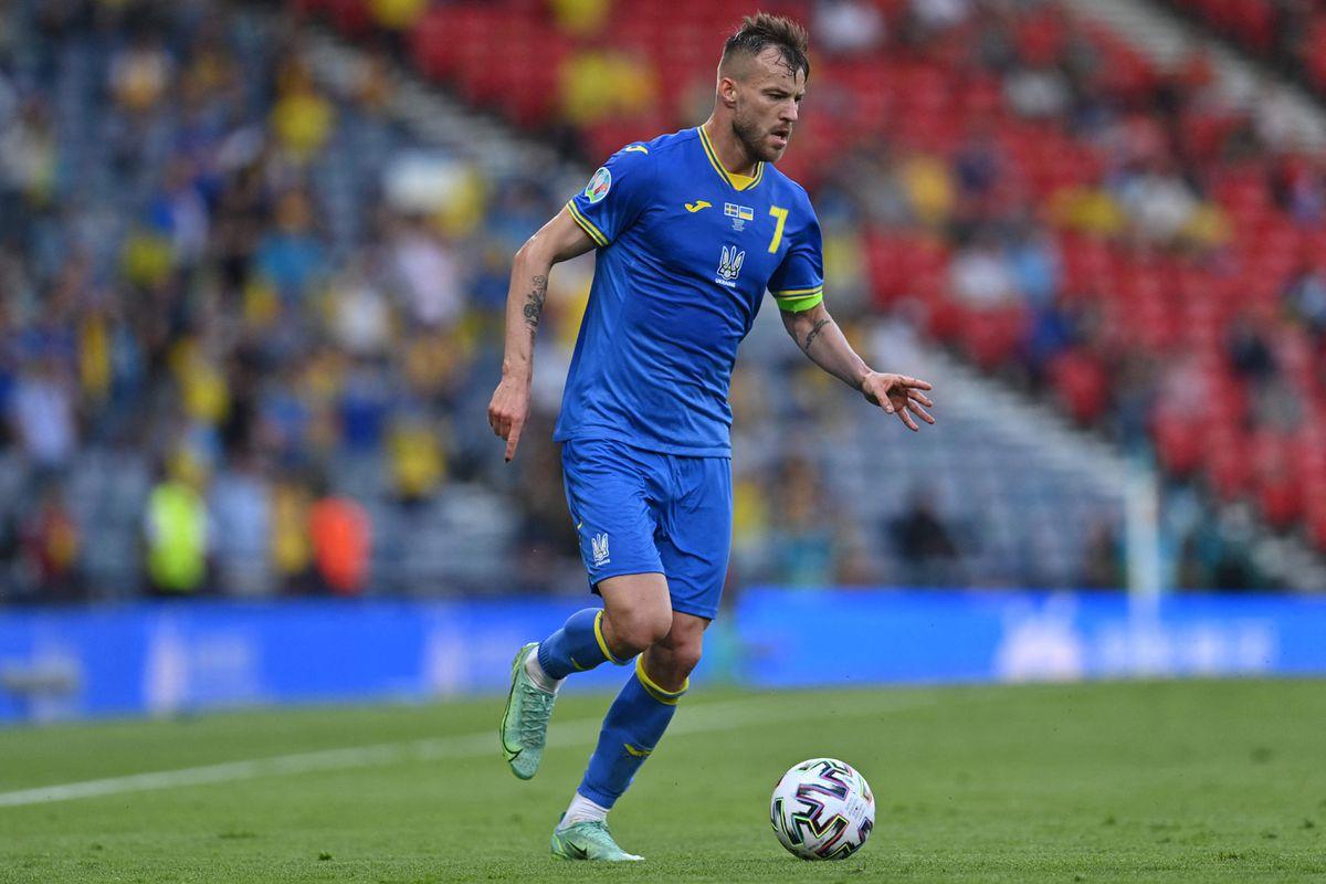 Yarmolenko, golpe a golpe  Fútbol Eurocup 2021