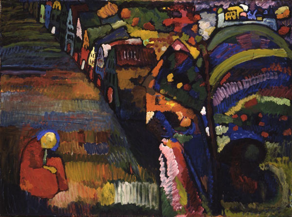 """Amsterdam devolverá """"Kandinsky"""" a los herederos de un judío que huyó de los nazis  Revista de verano"""