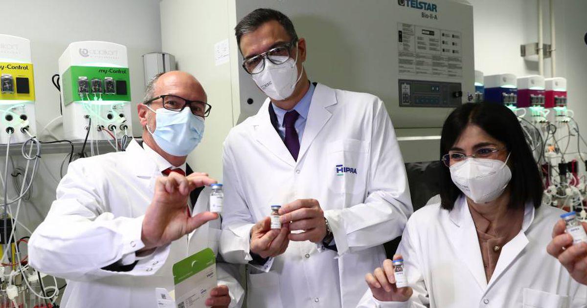 Así se probará la vacuna española Hipra: ya cuenta con voluntarios de la primera fase y se inoculará en la segunda    Ciencia