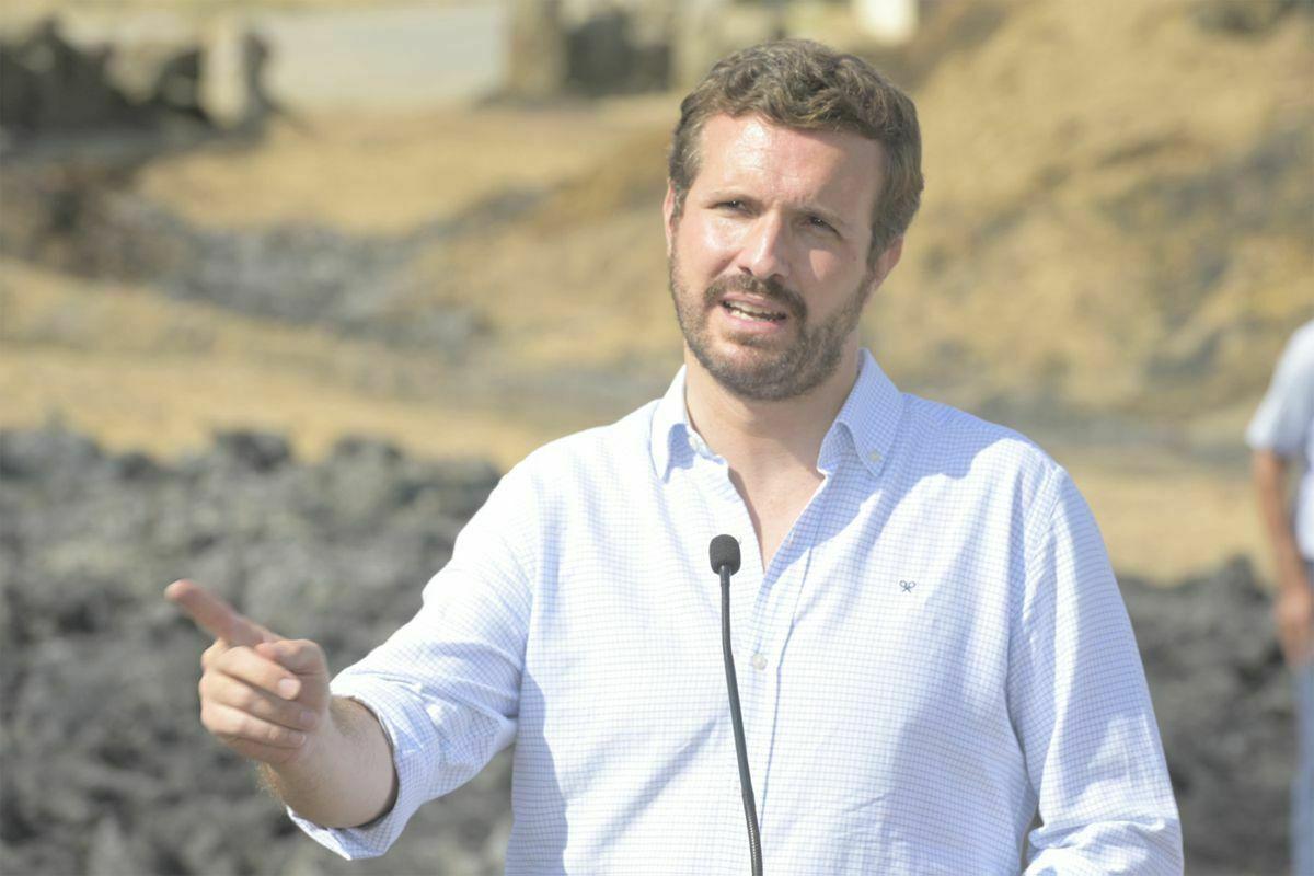 """Casado acusa a Sánchez de utilizar fondos de ayuda europeos """"para su programa electoral""""  España"""