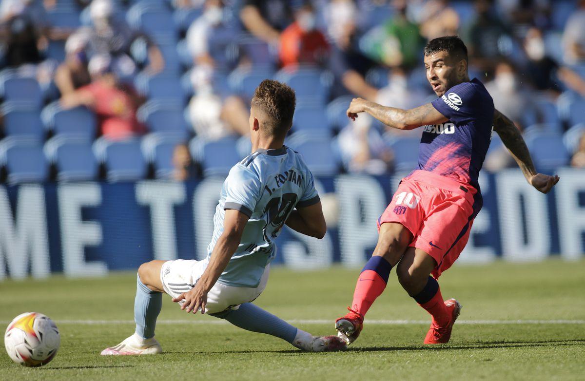 Corea une el triunfo del Atlético ante el Celta  deporte