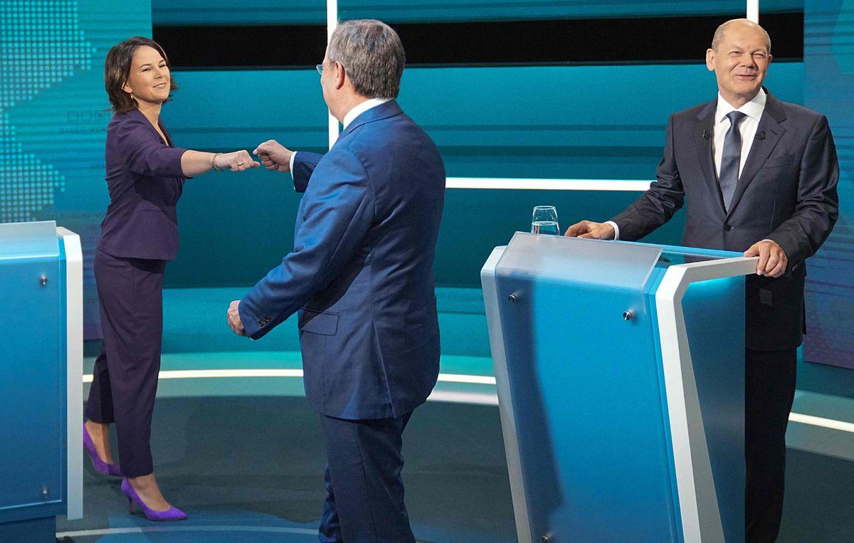 Debate electoral en Alemania: los candidatos verdes atacan y los socialdemócratas ganan  Internacional