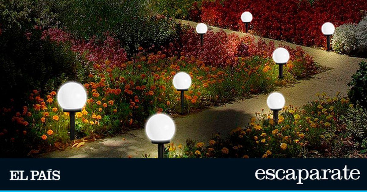Diez ideas para iluminar su jardín, balcón o patio con luz solar y luces exteriores |  Escaparate