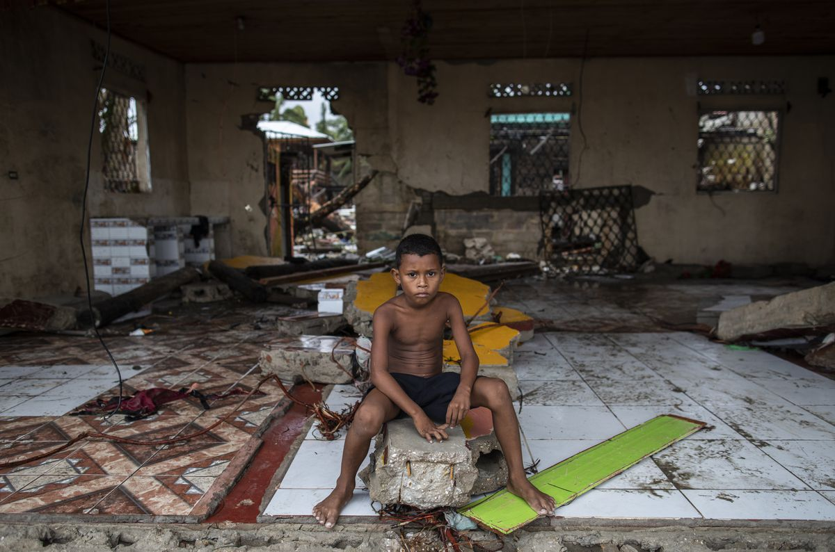 El 45% de los niños del mundo están muy expuestos a los efectos del cambio climático.  Planeta del futuro