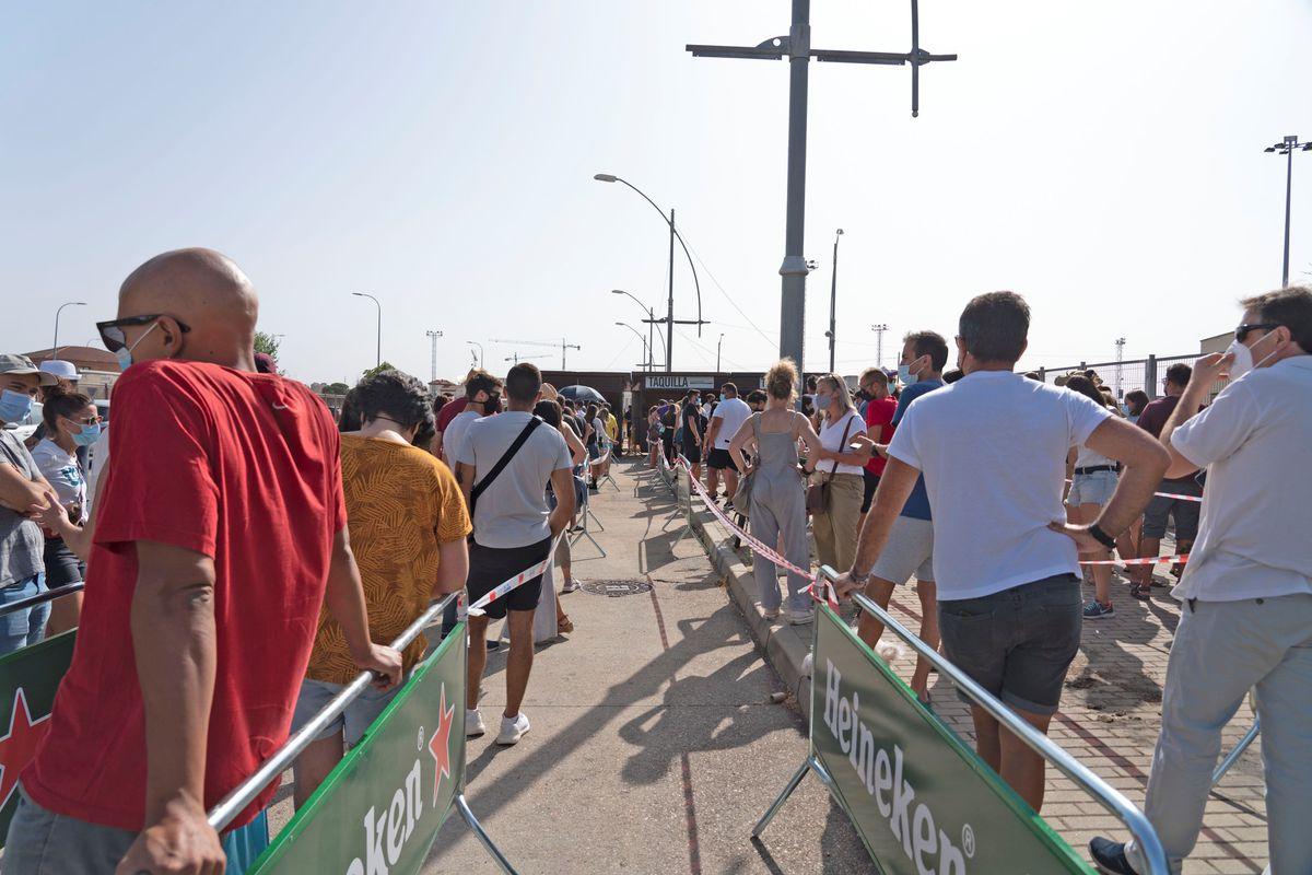 El Festival Sonorama Ribera arranca con medidas estrictas y un aforo seis veces menor  Cultura