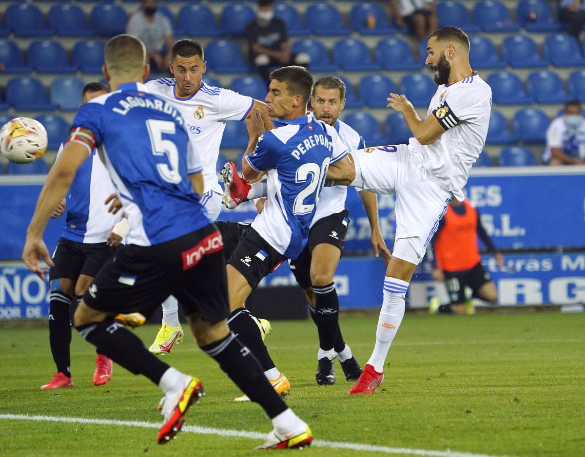 El Real Madrid venció al principio  deporte