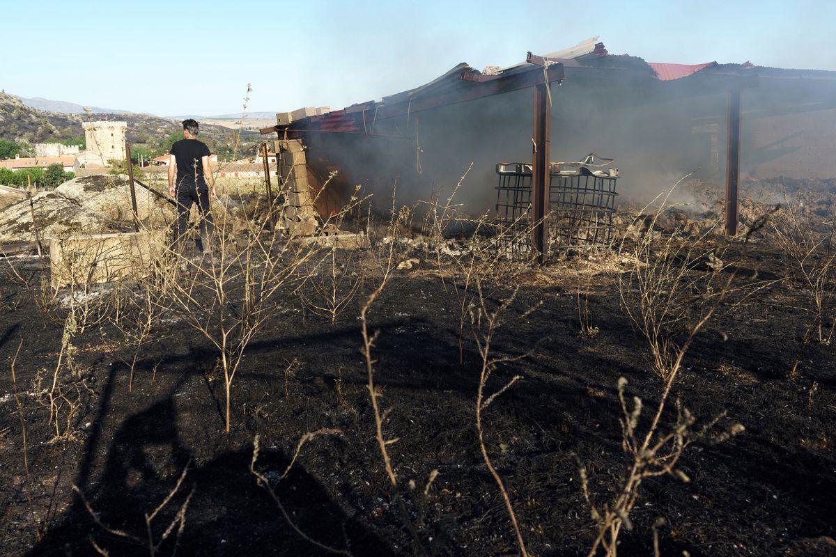 El incendio en Ávila sigue activo y ha arrasado 20.000 hectáreas  Clima y medio ambiente