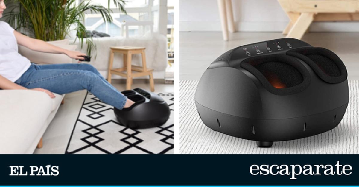 Este masajeador de pies con calefacción y control remoto supera las 24.000 reseñas de Amazon |  Escaparate