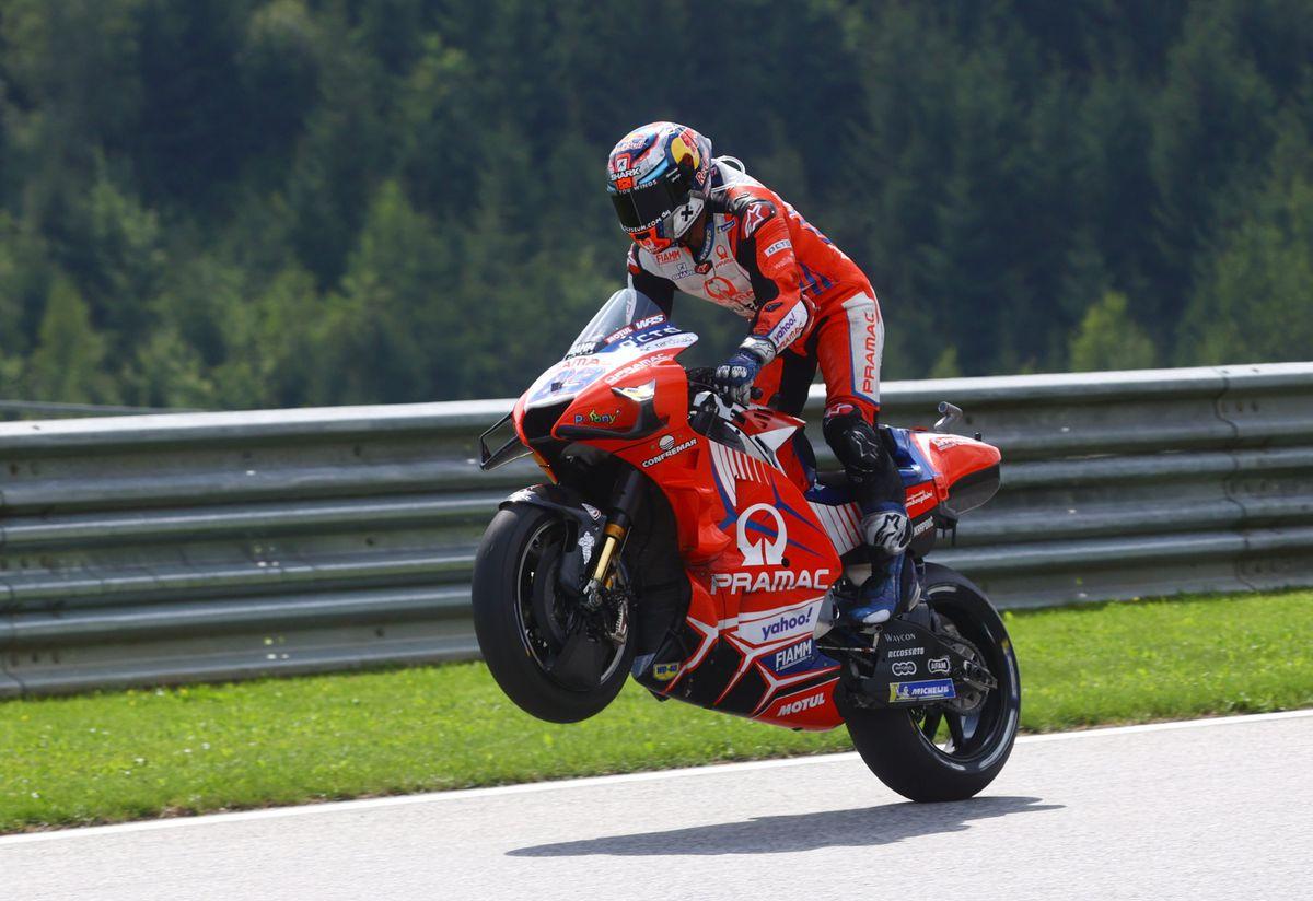 GP Austria MotoGP: La velocidad de Jorge Martín, el error de Maverick Vinales |  deporte