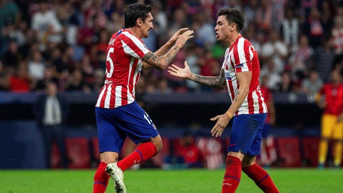Jiménez y Savic, un par de años en el Atlético  deporte