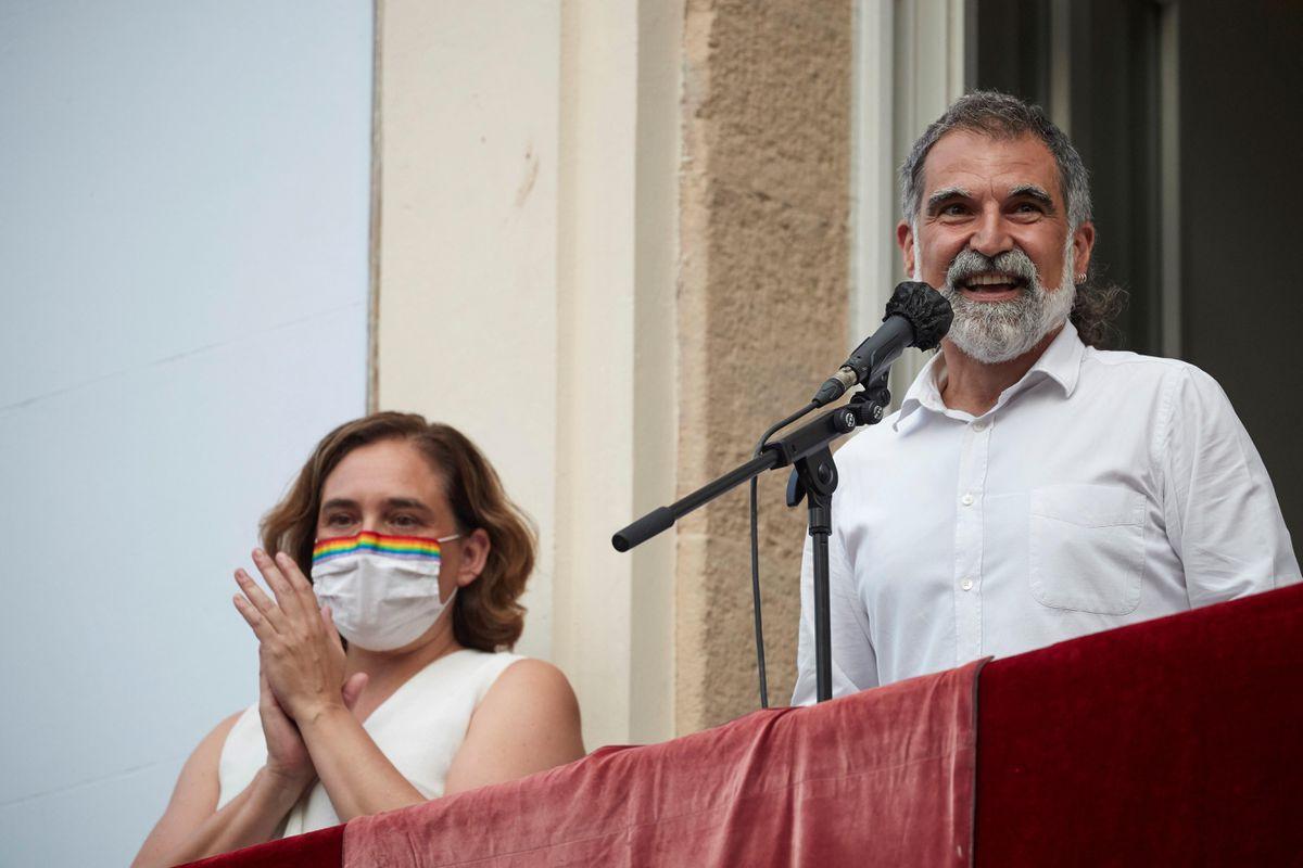 """Jordi Cuixart, en el anuncio de las vacaciones en Gracia: """"Lo haremos de nuevo""""    Cataluña"""