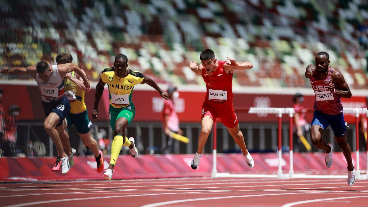 Juegos Olímpicos de Tokio 2020, en directo  Asier Martínez anotó un pase a la final de 110 metros con vallas  Juegos Olímpicos 2021