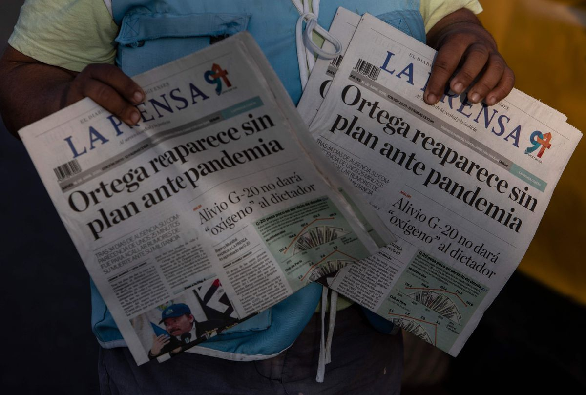 La Prensa: El gobierno de Daniel Ortega deja fuera de circulación a importante periódico nicaragüense |  Internacional