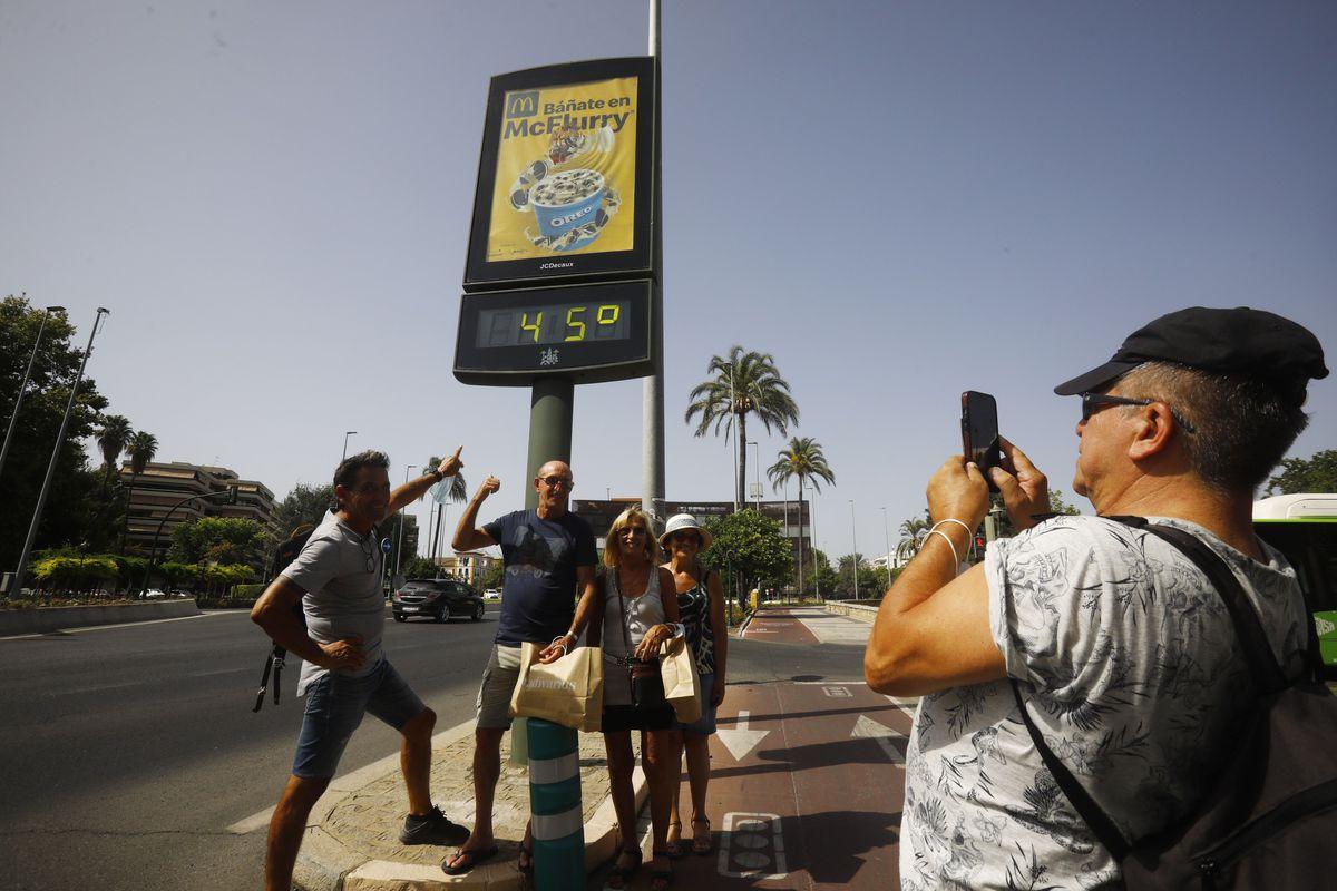La ola de calor asfixia a España: Córdoba registró 46,1 grados este viernes  España