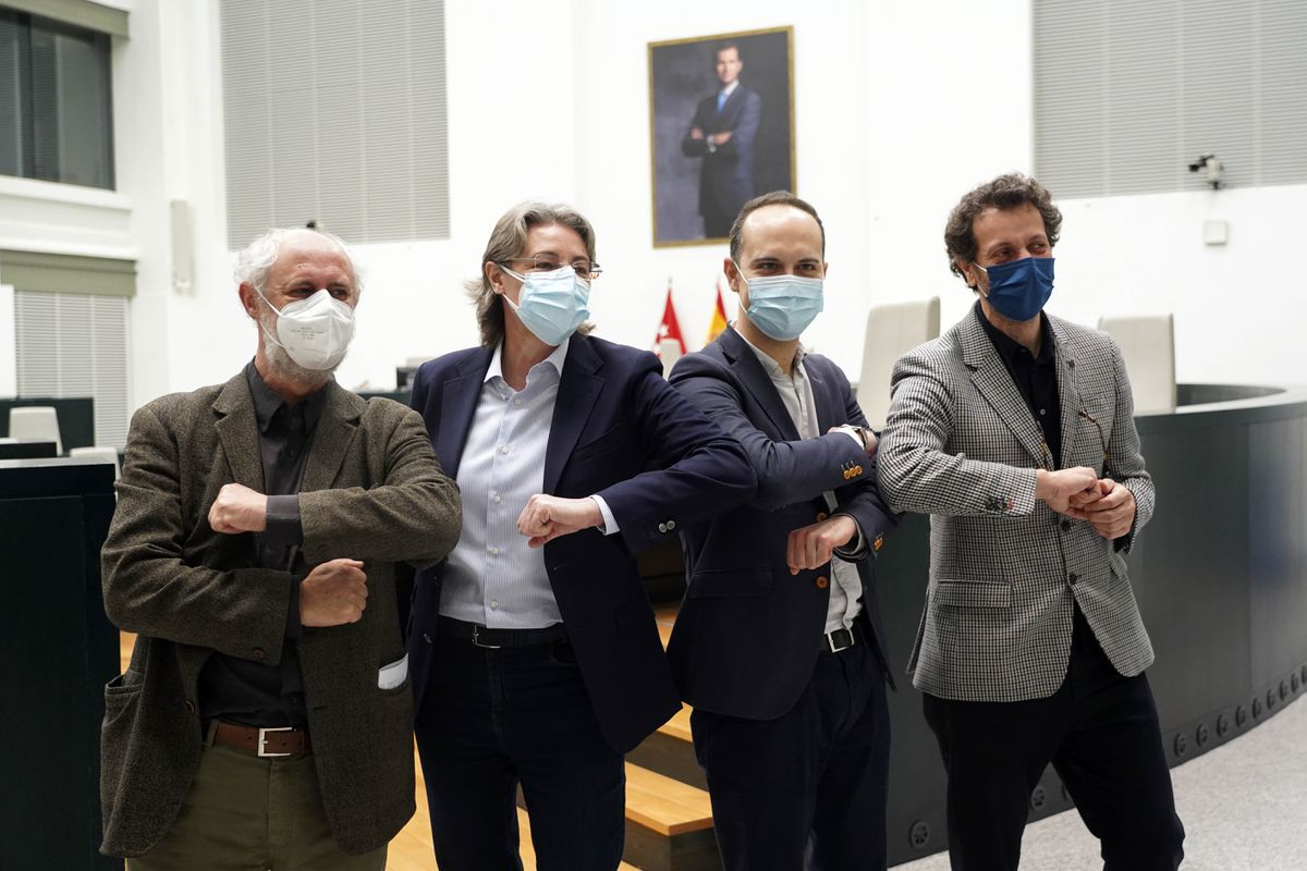 Los cuatro concejales descarriados de Mas Madrid podrán formar un grupo mixto en el Ayuntamiento |  Madrid