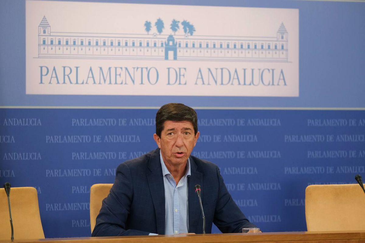 Marín acusa al gobierno central de posiblemente ampliar el presupuesto de Andalucía  España