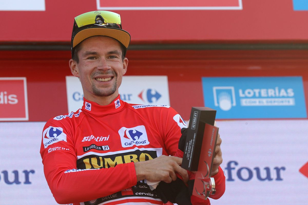 Master Roglic vuelve a la roja de la Vuelta  deporte