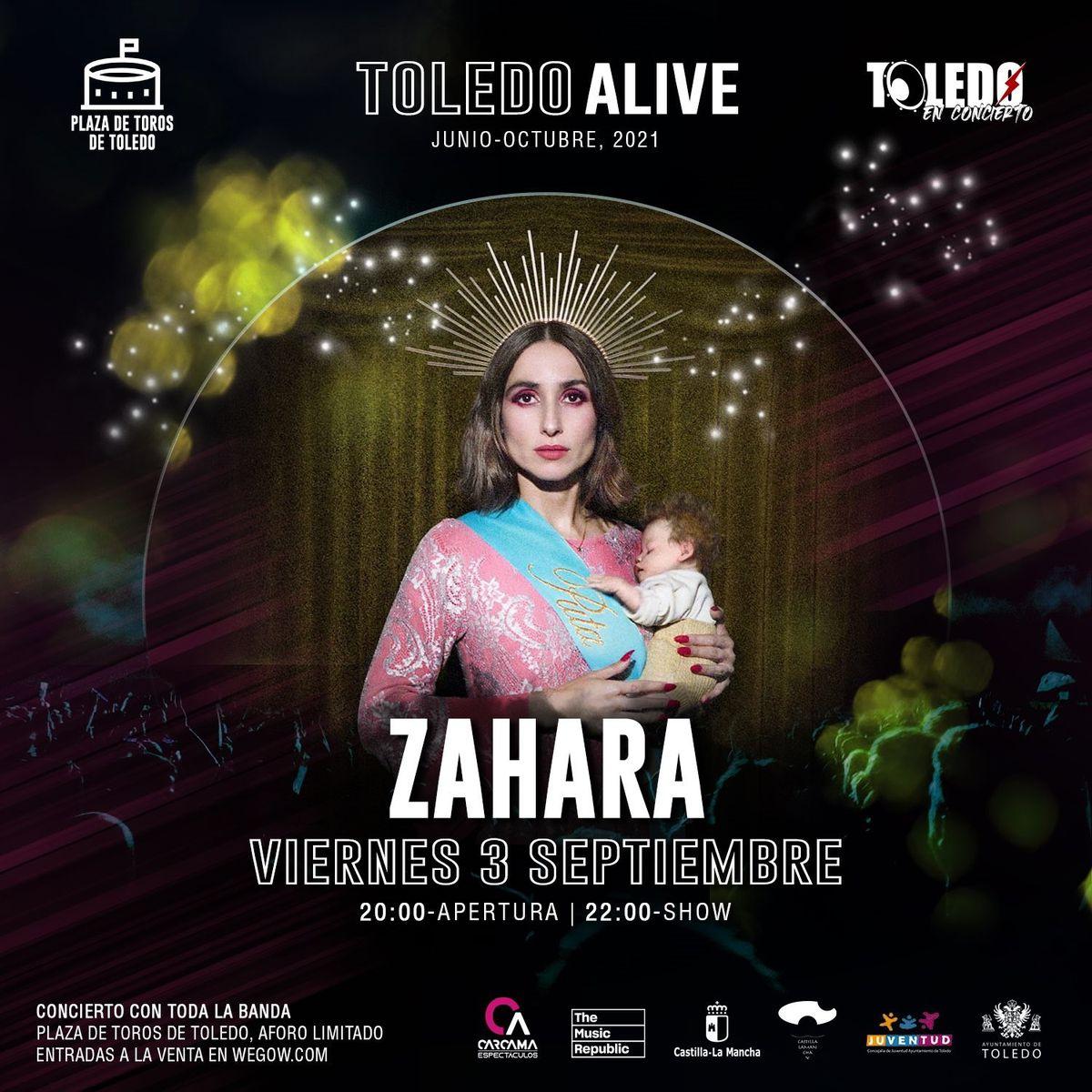 Músicos y políticos apoyan a Zahara después de que el Ayuntamiento de Toledo retirara el cartel de su concierto por presiones de Vox |  Cultura