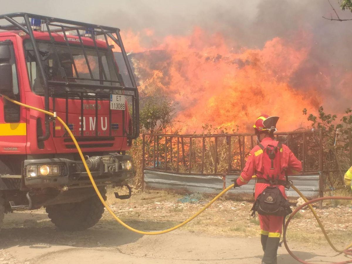 Navalacruz: El incendio que arrasa Ávila mejora después del trabajo nocturno, pero sigue activo |  España
