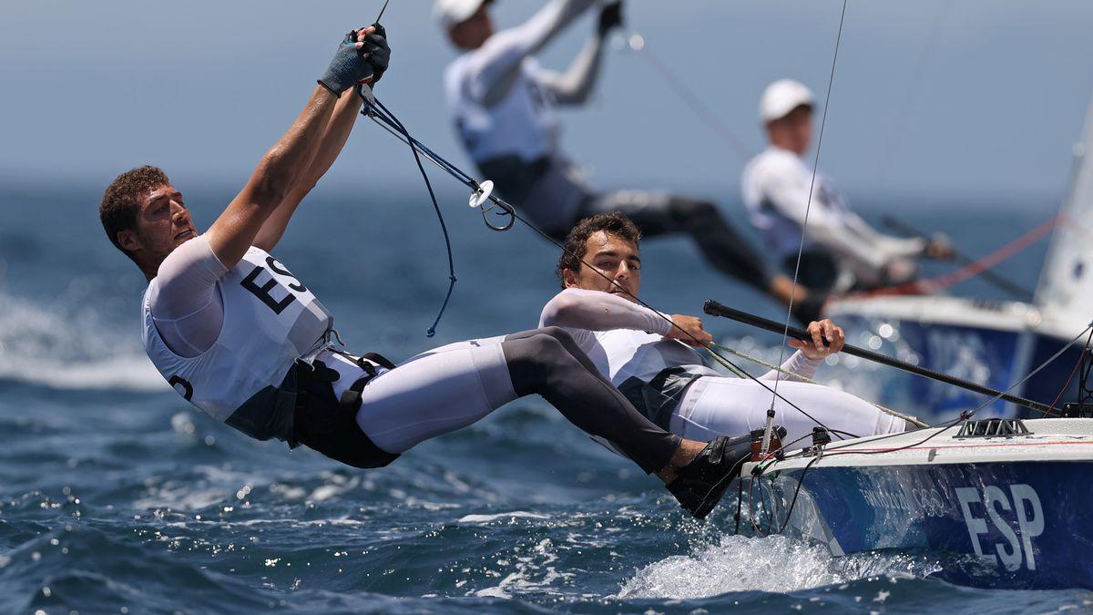 Olimpiadas Tokio 2021: incansables Jordi Jamar y Nico Rodríguez, bronce en 470 |  Juegos Olímpicos 2021