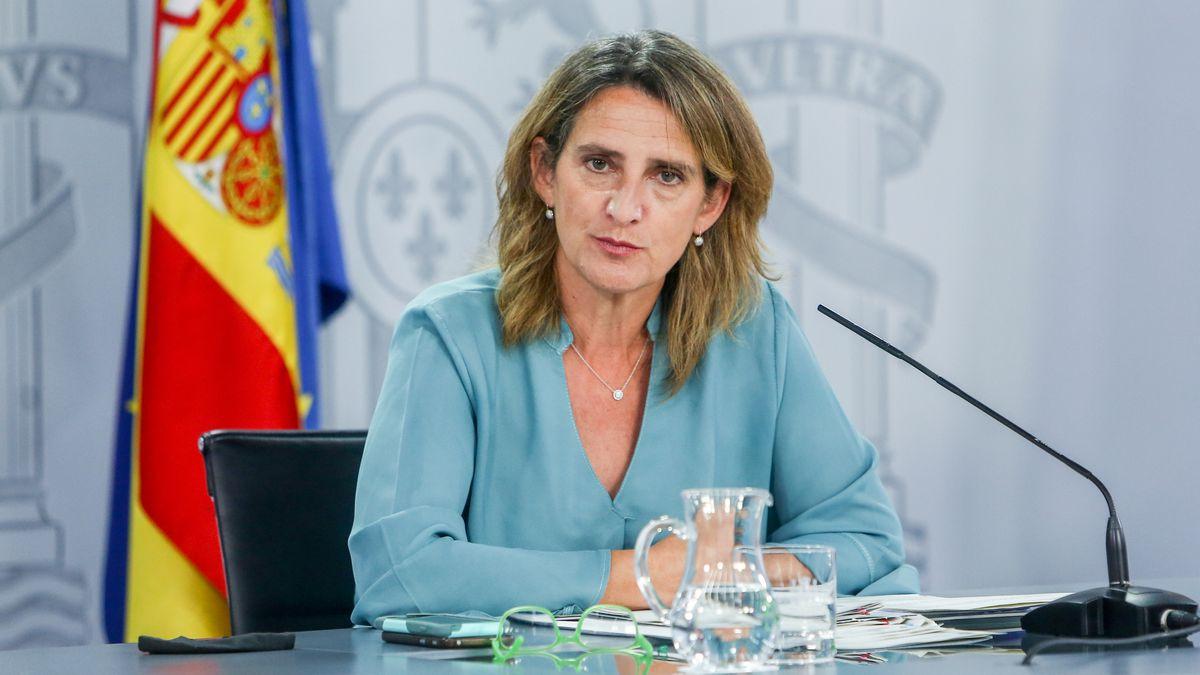 Teresa Ribera estudiará el vaciado de los tanques de Iberdrola para producir energía más barata |  Ciencias económicas