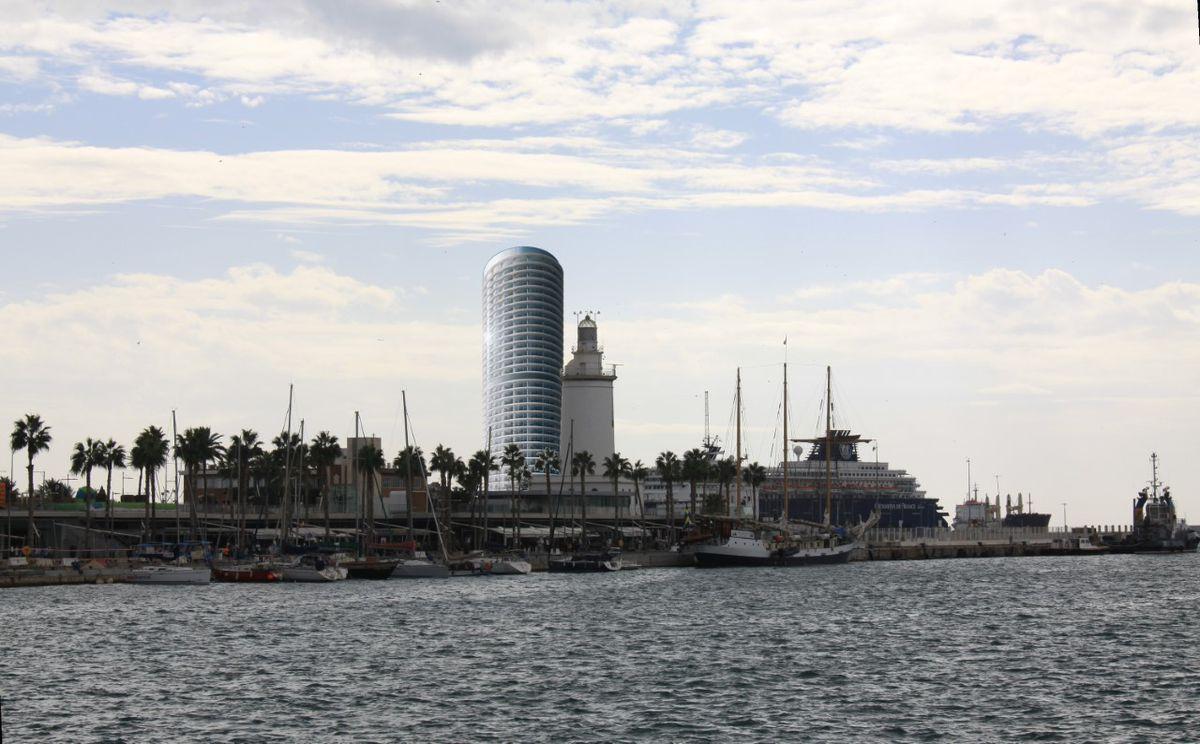 Torre del Puerto: Ministerio de Cultura rechaza construcción de rascacielos en el puerto de Málaga |  Cultura