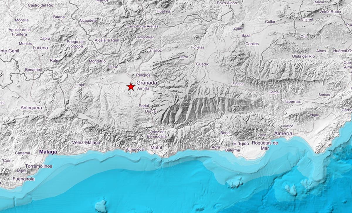 Un terremoto de magnitud 4,2 en Granada se siente en varias provincias andaluzas |  España