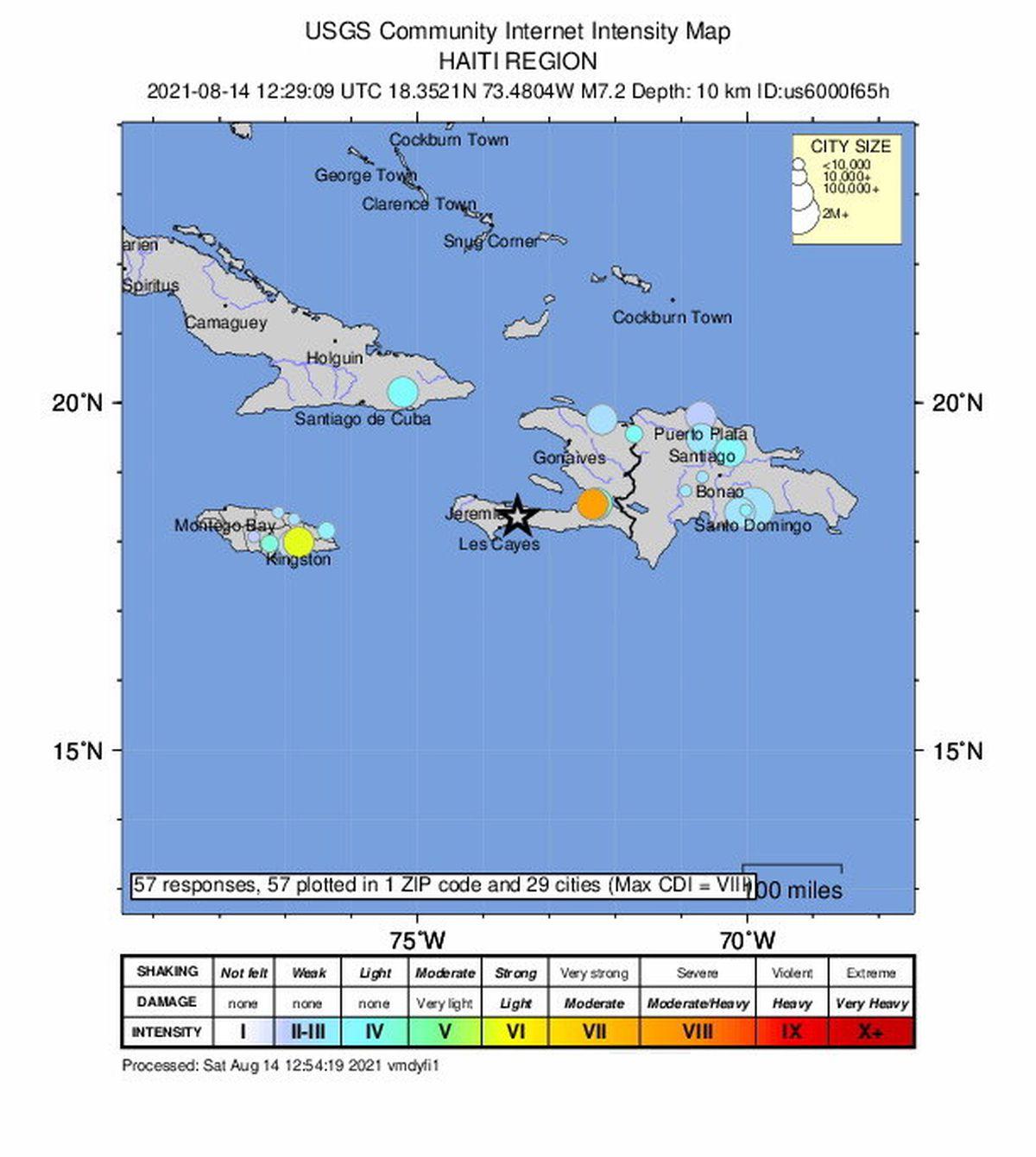 Un terremoto de magnitud 7,2 sacudió Haití  Internacional